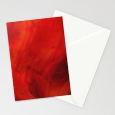 Red glass Stationery Cards