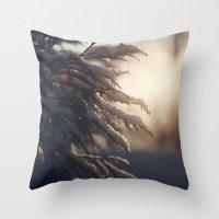 Winter Morn Throw Pillow