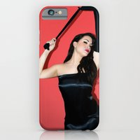 iPhone & iPod Case featuring Gilda by lauraruiz