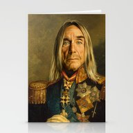 Iggy Pop - Replaceface Stationery Cards