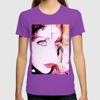 Pinki Womens Fitted Tee Ultraviolet SMALL