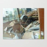 Urban Reflections 24 Canvas Print