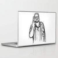 Laptop & iPad Skin featuring Walter Sobchak by Tom Ledin