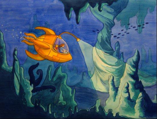 Deep Sea Adventure Art Print