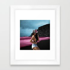 Pink Dream Framed Art Print