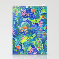 Undersea World Stationery Cards