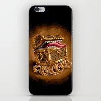 Discworld Luggage iPhone & iPod Skin