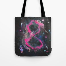 8 - infinity, abundance, success in business, Modern Feng Shui Tote Bag
