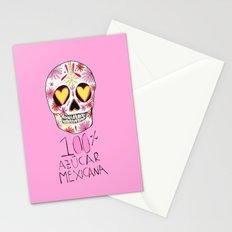 100% azucar mexicana Stationery Cards