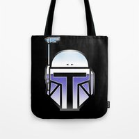 Mandalorian In Disguise Tote Bag