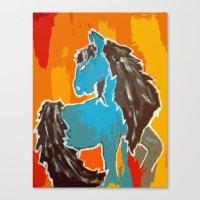 Southwest; Horse Canvas Print