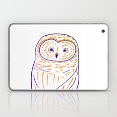 The Owl. Owl art, owls, owl print, owl illustration, nature, animals, children's  Laptop & iPad Skin