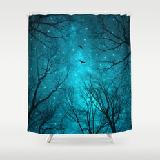 Stars Can't Shine Without Darkness  Shower Curtain