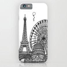 Paris Silhouettes Slim Case iPhone 6s