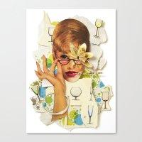 Blaise   Collage Canvas Print