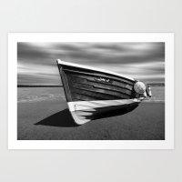 Sailing Coble Lady J Mon… Art Print