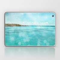 Caribbean Blue Laptop & iPad Skin