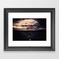 Space & Time Framed Art Print