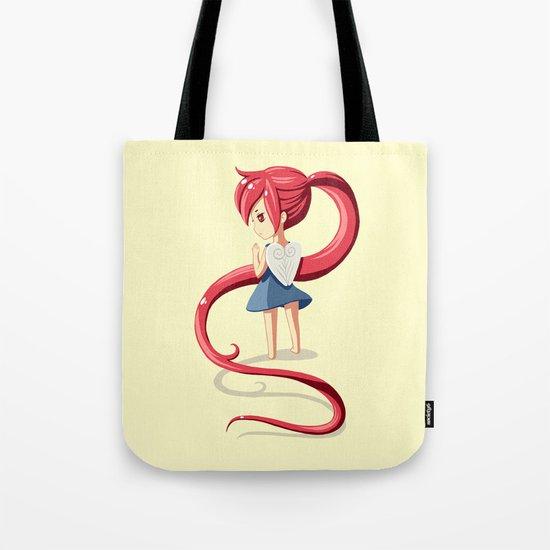 Ponytail Tote Bag