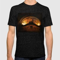 Cafe Kafka Mens Fitted Tee Tri-Black SMALL