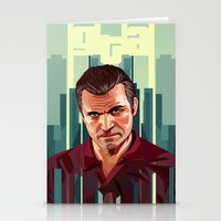 The Godfather, GTA 5 Mic… Stationery Cards