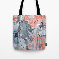 thoughts on a monday Tote Bag