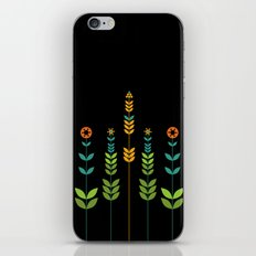 Simple Flowers iPhone & iPod Skin