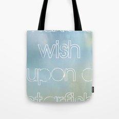 make a wish upon a starfish Tote Bag