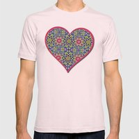 A Spring Flower Garden Mens Fitted Tee Light Pink SMALL