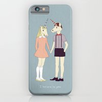 Our love is unique, we are Unicorns (text version) iPhone 6 Slim Case