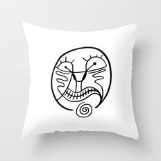 Print #16 Throw Pillow