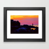 The Left Coast Framed Art Print