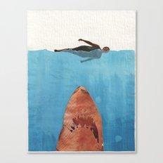 Fish Food Canvas Print