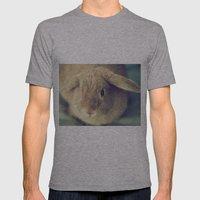 Bunny Mens Fitted Tee Athletic Grey SMALL