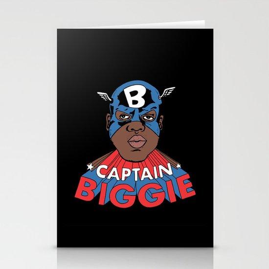 Captain Biggie Stationery Card