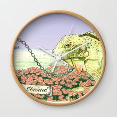 We're Chained Wall Clock