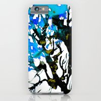 iPhone & iPod Case featuring Blue ash by Deja Green