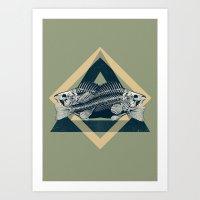 FISCHERS FRITZ Art Print