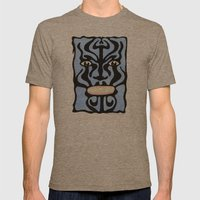 Queequeg Mens Fitted Tee Tri-Coffee SMALL