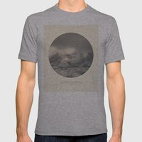 Love The Mountains... Mens Fitted Tee Athletic Grey SMALL