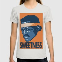 Sweetness Womens Fitted Tee Silver SMALL