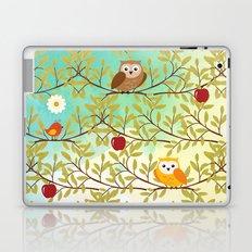 Autumn birds Laptop & iPad Skin