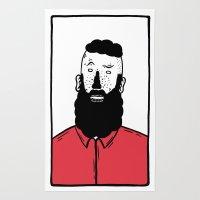 BearD Guy Rug