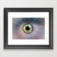 Eye Cosmic Framed Art Print