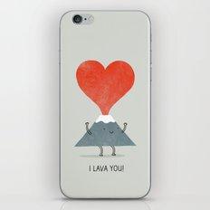 I Lava You iPhone & iPod Skin