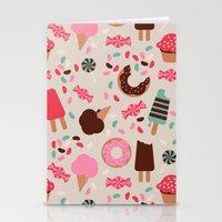 desserts! Stationery Cards