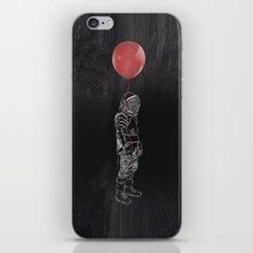 Balloon Astronaut iPhone & iPod Skin