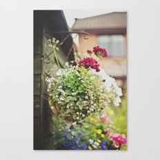 flowers... Canvas Print
