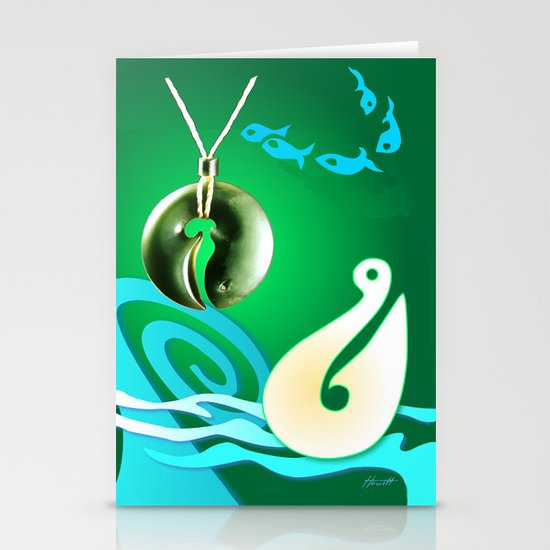 Go Fishing - Hi Ika Stationery Card