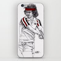 Tennis Mcenroe iPhone & iPod Skin